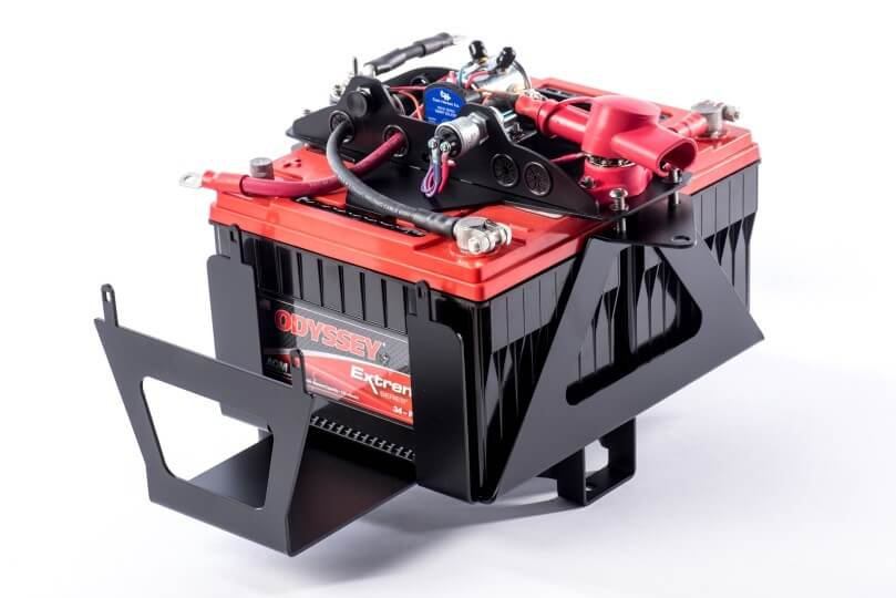 2007-2018 Jeep Wrangler JK Right Hand Drive Dual Battery Kit