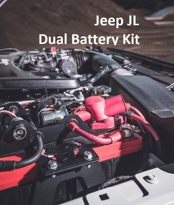 Jeep JL Dual Battery Kit