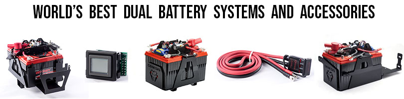 Best Dual Battery Kit Jeep Toyota Polaris