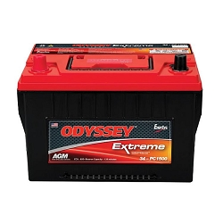 Odyssey Extreme Series Group 34  Battery: JK and Tacoma