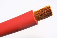 2 Gauge Positive Lead Cable, Sold by the Foot